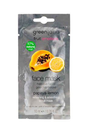 Greenland Fruit Emotions Face Mask Papaia-Limão