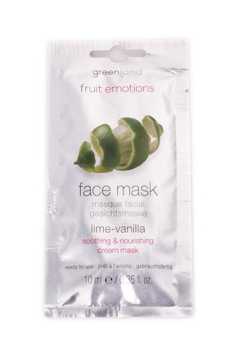 Greenland Fruit Emotions Face Mask Lima-Baunilha
