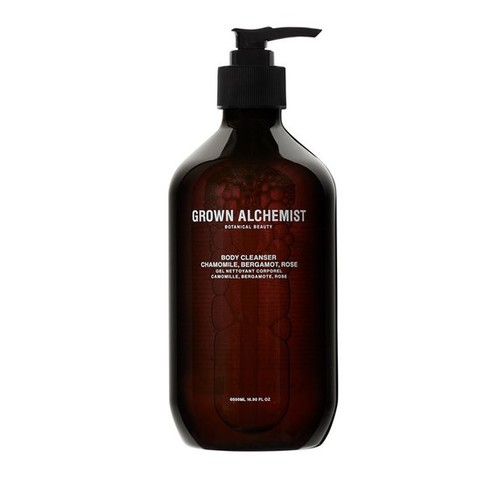 Grown Alchemist Body Cleanser: Chamomile, Bergamot, Rose 500 ml