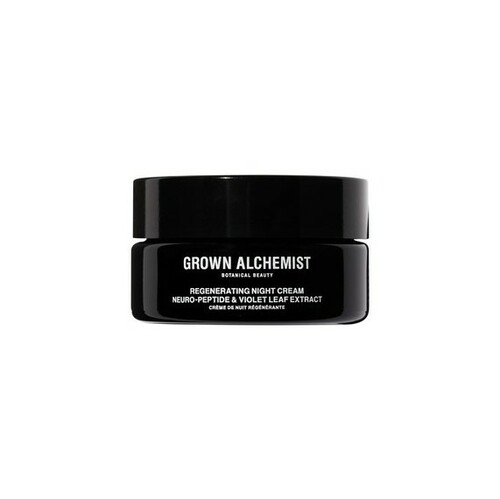 Grown Alchemist Regenerating Night Cream: Neuro-Peptide, Violet Leaf Extract 40 ml