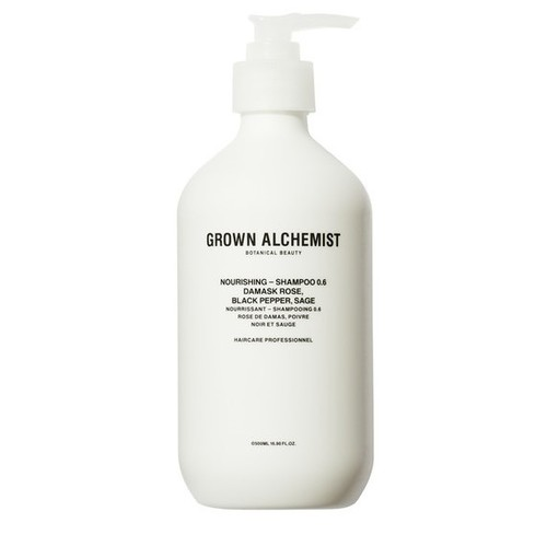 Grown Alchemist Nourishing - Shampoo 0.6: Damask Rose, Black Pepper, Sage 500 ml