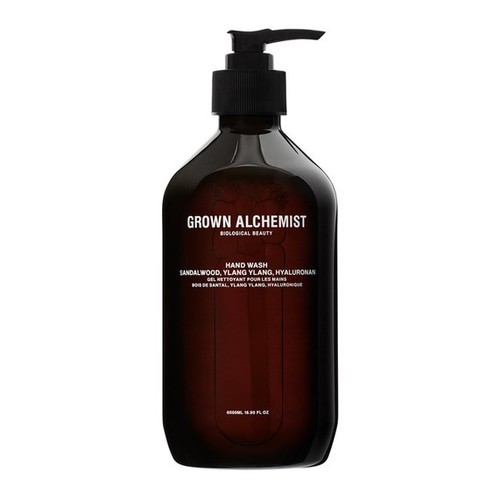 Grown Alchemist Hand Wash: Sandalwood, Ylang Ylang, Hyaluronan 500 ml