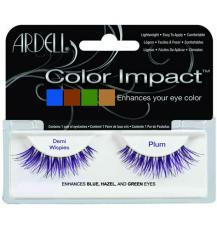 Ardell  Pestanas Color Impact Demi Wispies Plum